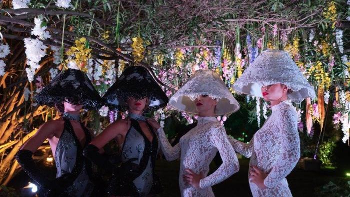 foto-eventi-allestimento floreale-e-ballerine