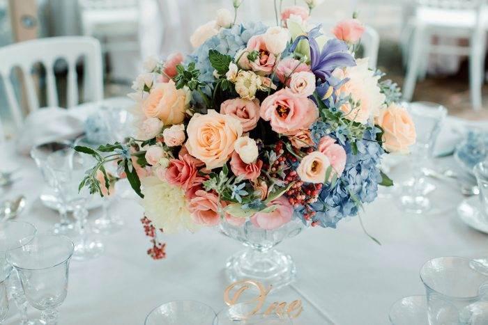 immagini-di-matrimonio-centro-tavola-vintage