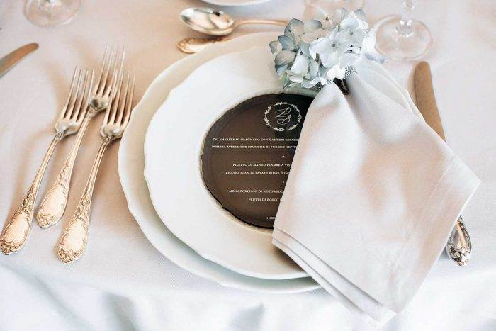 Wedding Menu Elegante