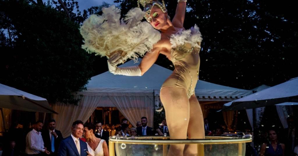 spettacoli per matrimoni burlesque