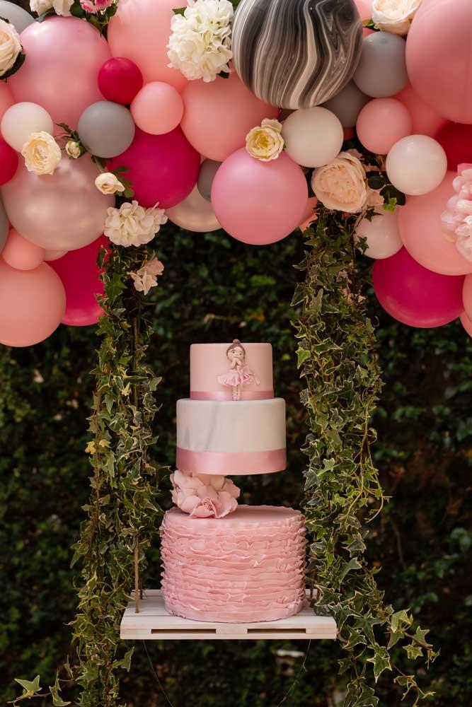 foto eventi torta rosa