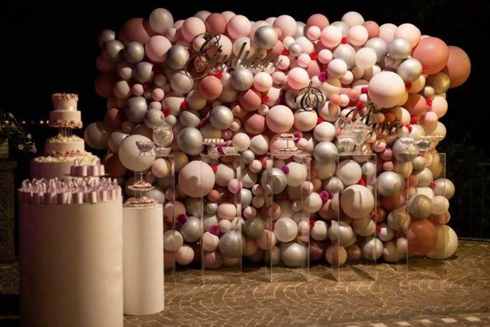 immagini di matrimonio giulian e sara palloncini